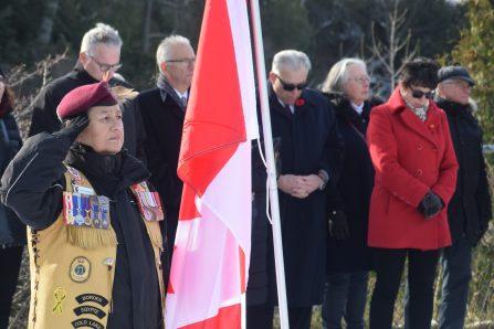 Jour du Souvenir – Wendake rend hommage à ses guerriers