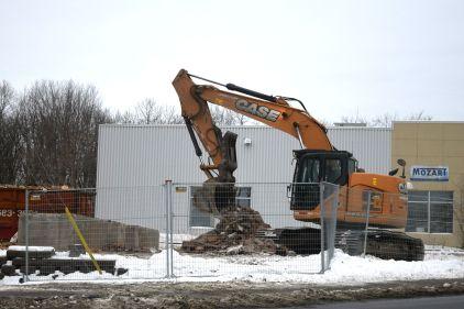 Parc-o-bus Bastien – Démolition d'immeubles amorcée