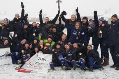 Les Dynamiques championnes canadiennes de soccer