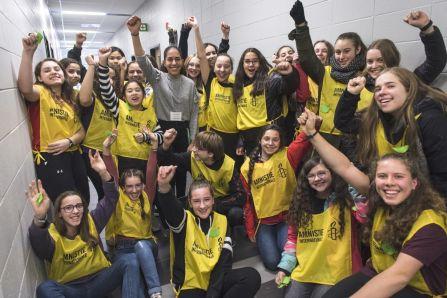 Plus de 500 participants au Congrès jeunesse d'Amnistie à De Rochebelle
