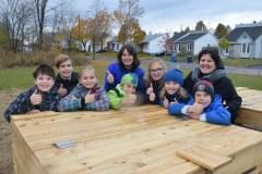 École de la Chaumière – Le compostage au cœur des préoccupations