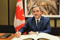 Joël Godin assermenté pour la 43e législature du parlement canadien