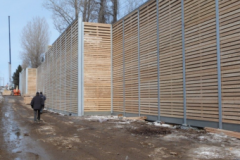 Un mur antibruit à Courville malgré une étude qui démontre une situation normale