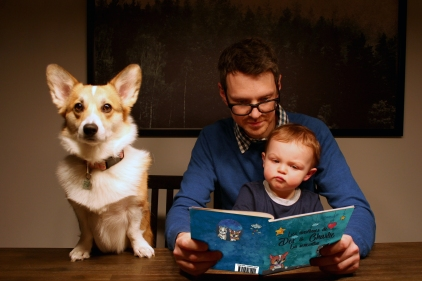 Un livre pour enfants inspiré par son fils: Frédérick Côté réalise son rêve de jeunesse