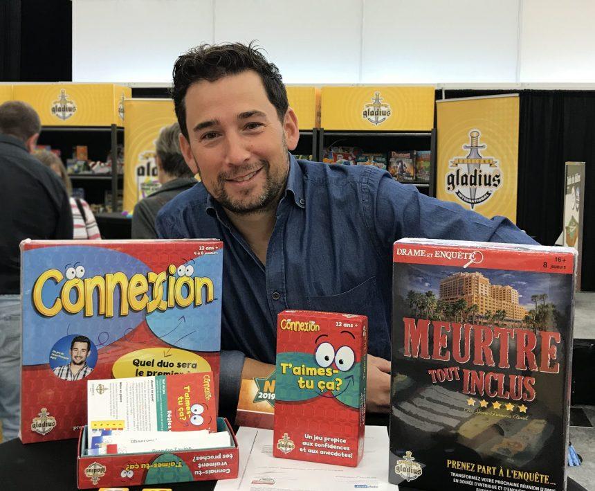 L'entreprise beauportoise Gladius lance deux nouveaux jeux de société