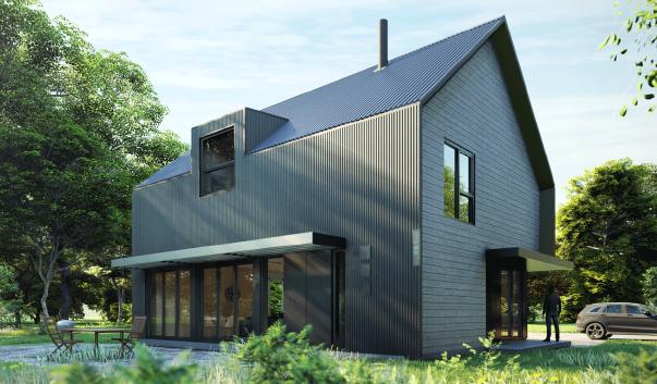 Une maison en kits écologique et accessible