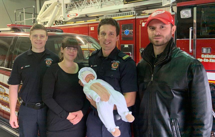 Des pompiers premiers répondants présents en tout temps
