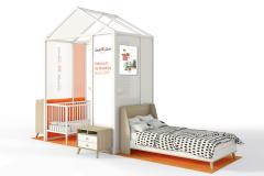 Concept modulaire conjoint présenté par South Shore et Clément