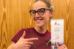 Le prix Femme d'affaires de l'année décerné à Madame Labriski