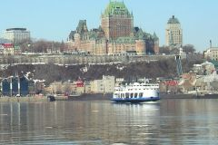 Reprise du service de traverse entre Québec et Lévis