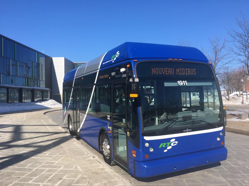 Midibus: le Réseau de transport de la Capitale défend son choix
