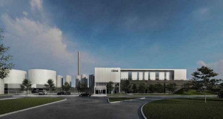 Le centre de biométhanisation, plus gros investissement de la Cité-Limoilou