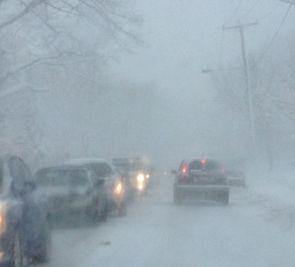Conditions météorologiques difficiles à Québec