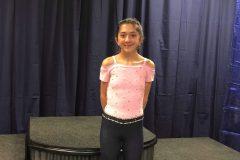 Une jeune patineuse s'illustre