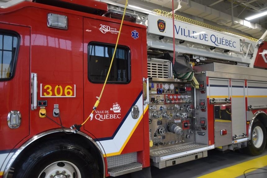 Sauvetage au 85, rue D'Artois à Beauport