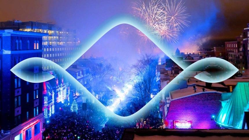 C'est parti pour les festivités du nouvel an à Québec!