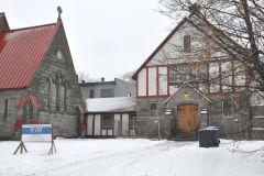 Version moins ambitieuse pour le projet immobilier autour de l'église St Michael