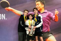 Pongistes locaux champions nord-américains