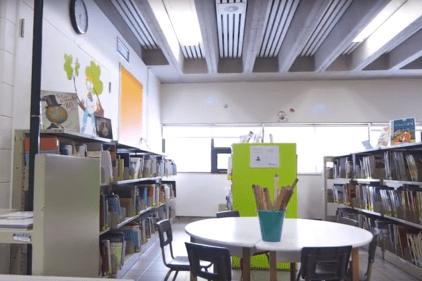 Bibliothèque scolaire rénovée grâce à un généreux don