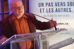 Le professeur en travail social Gilles Tremblay honoré