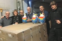 Don de 400 dindes à Moisson Québec