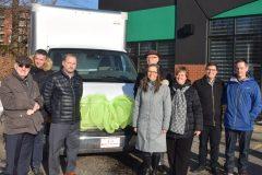 Aide alimentaire à Solidarité Familles – Un nouveau camion assure la pérennité du service