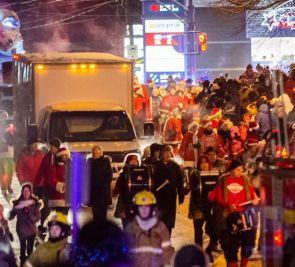 Le 9e Défilé des pères Noël envahira les rues de L'Ancienne-Lorette