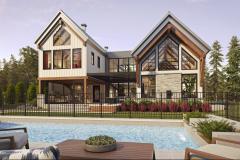 Inspiration des fermes d'époque pour la Maison Tanguay 2020