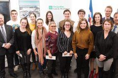 Persévérance scolaire: Quinze jeunes reçoivent une bourse