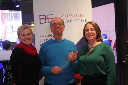 Fernand Bélair reçoit le Prix reconnaissance bénévole expert engagé 2019