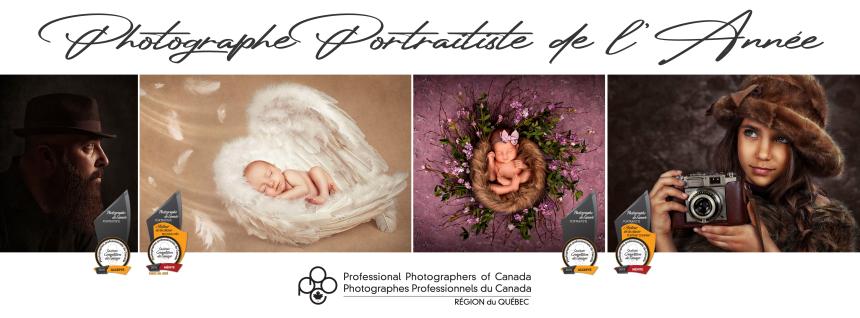 Cindy Hains remporte le titre de Photographe portraitiste de l'année