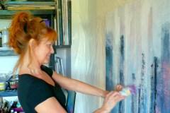 Exposition solo de l'artiste-peintre Denise Cloutier