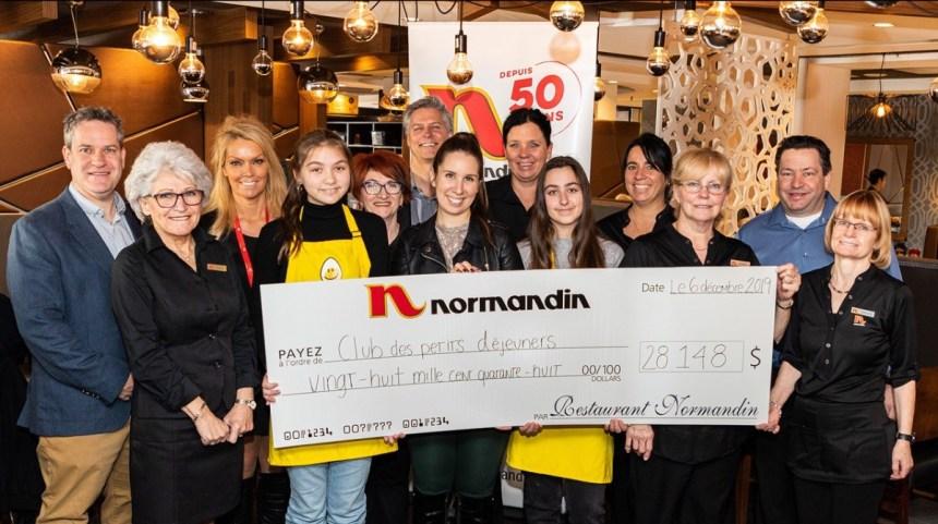 Normandin remet 28 148 $ au Club des petits déjeuners