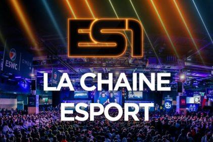 ES1: La chaîne de Esport dévoile sa programmation hivernale