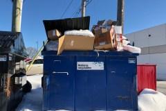 Pas de collecte du recyclage depuis deux semaines pour des commerces sur Henri-Bourassa