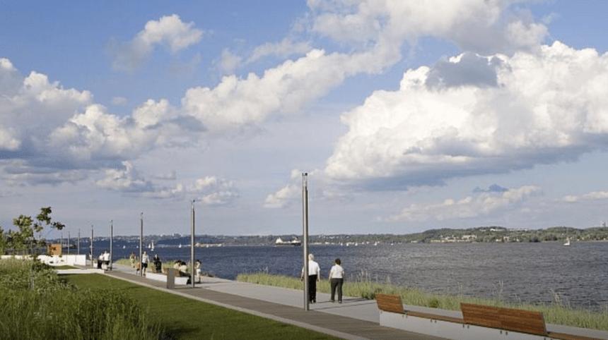 Une œuvre pour la phase 3 de la promenade Samuel-De Champlain