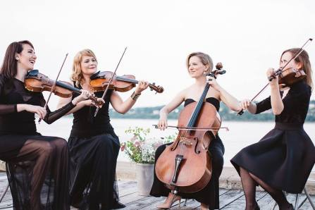 Un quatuor musical pour commencer l'année