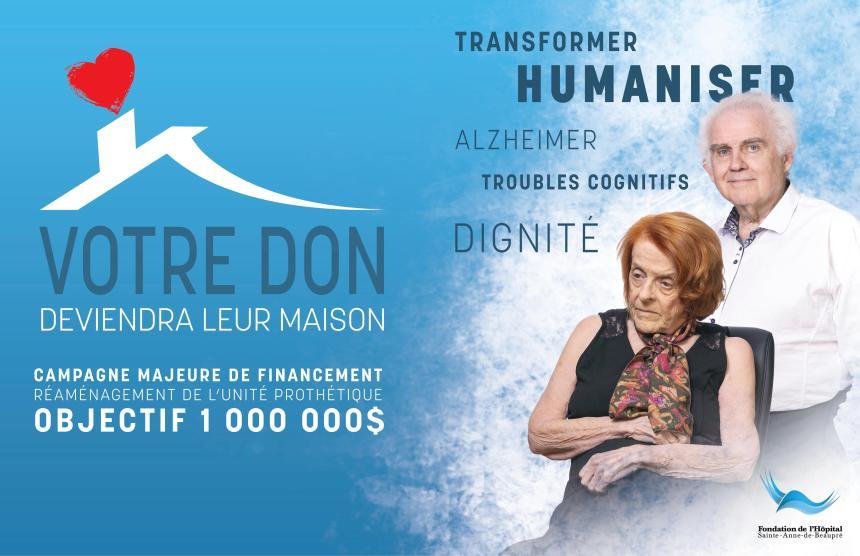 Projet d'un million au CHSLD de l'Hôpital Sainte-Anne-de-Beaupré