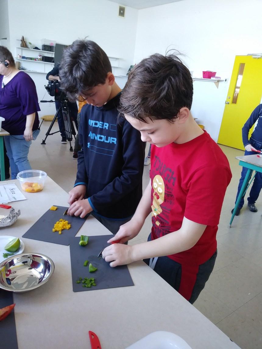 Apprendre à cuisiner à l'école primaire