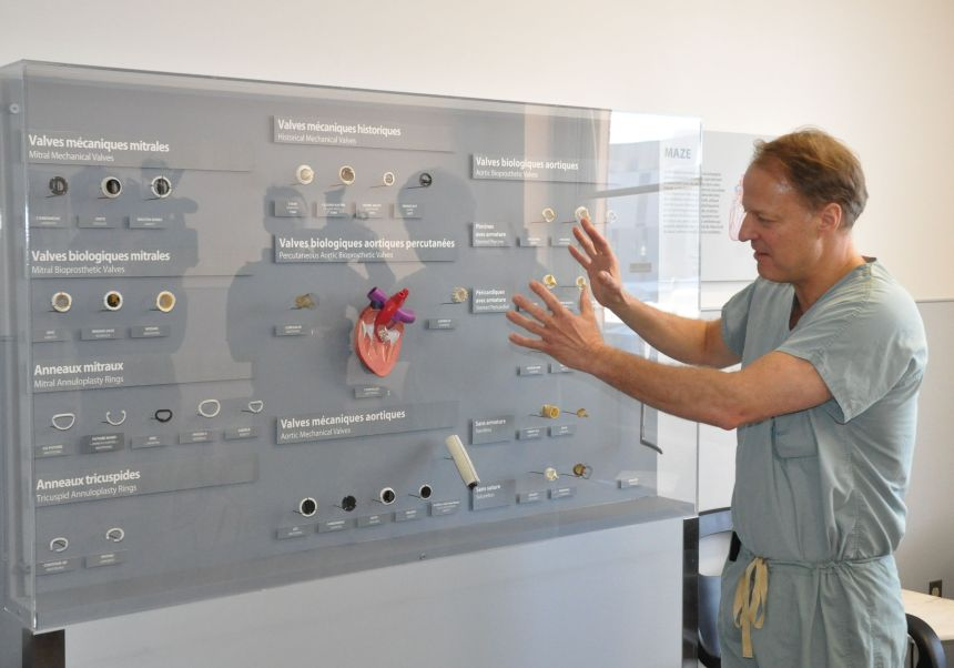 L'exposition «Au cœur de la chirurgie cardiaque» explique et rassure