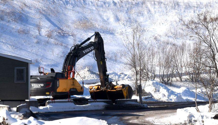 Un dépôt à neige du secteur Les Saules qui dérange