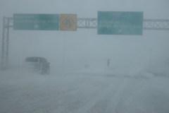 Reportage-photos: L'hiver n'a pas dit son dernier mot