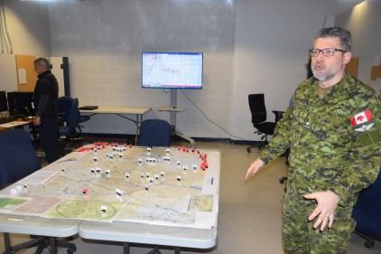 Exercice Unified Resolve –  Combats virtuels à Valcartier