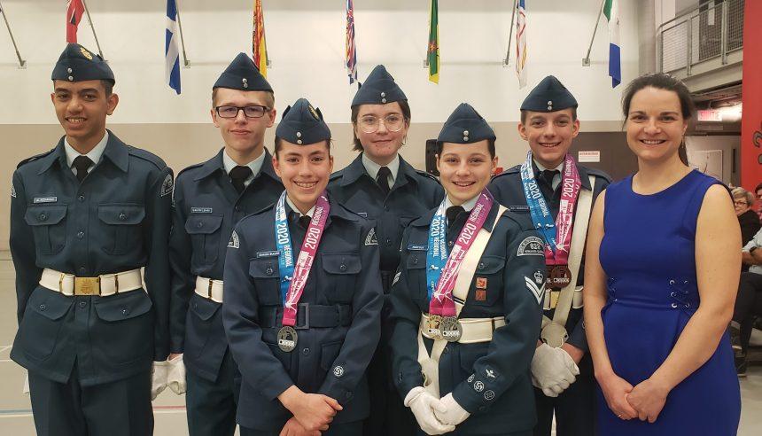 Biathlon – L'Escadron 629 Kiwanis-Québec au Championnat provincial