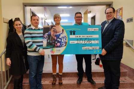 Charlesbourg Toyota remet plus de 10000$ au Club des petits déjeuners