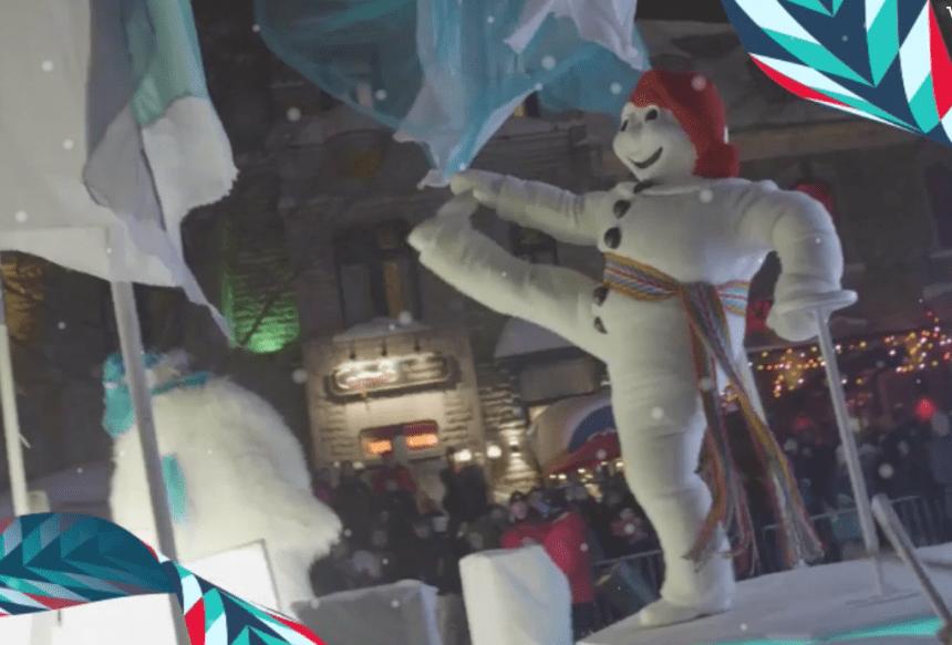 Prêt pour le 1er défilé du Carnavalde Québec