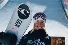 Surf des neiges: Journée en or pour Laurie Blouin