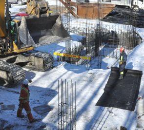 La pénurie de main-d'œuvre frappe la construction