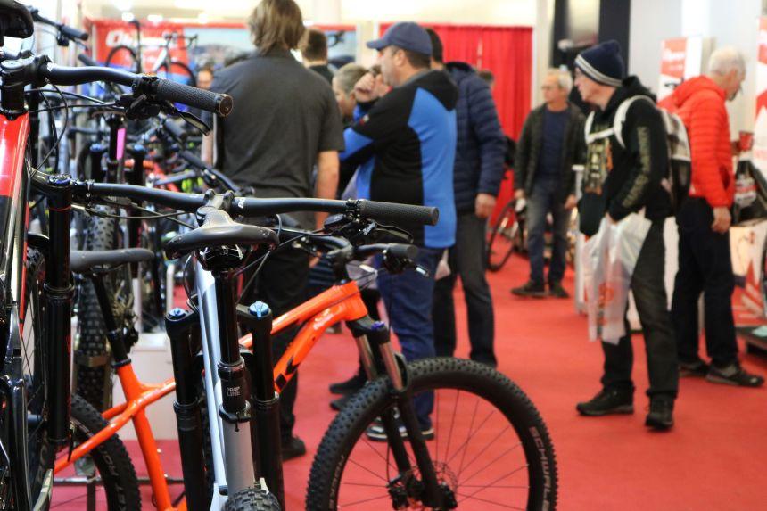 Avant-goût de la saison cycliste au Salon Info-Vélo