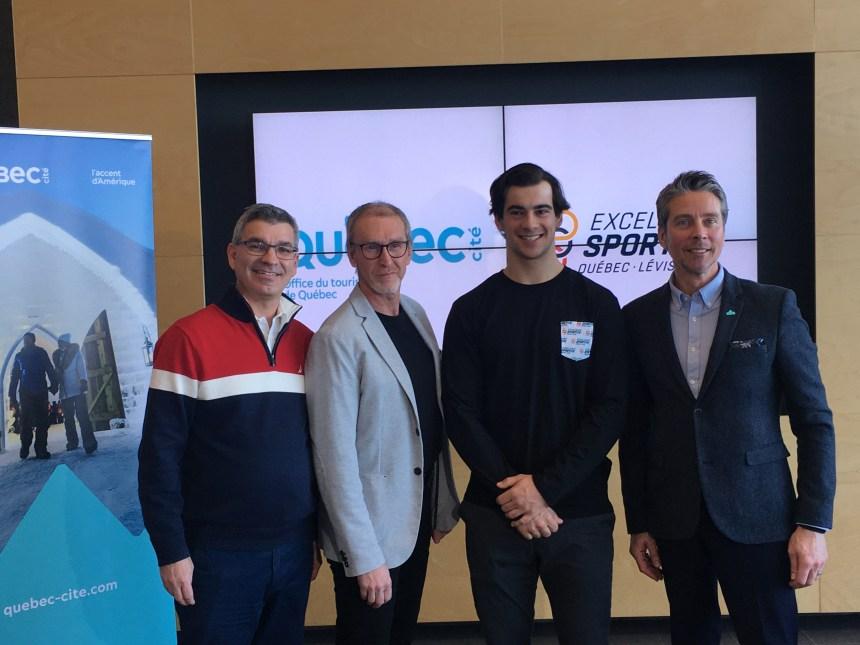 Des athlètes pour promouvoir l'hiver à Québec